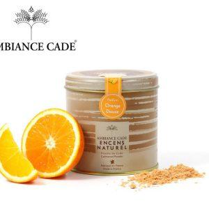 Poudre de cade parfum Orange douce
