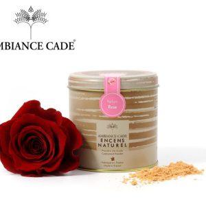 Poudre de cade parfum Rose