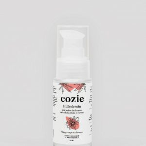 Huile de soin visage et corps Zéro déchet Cozie