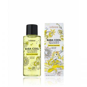Baba cool huile de soin parfumée vanille coco