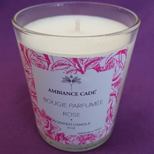 bougie cade rose ambiance cade