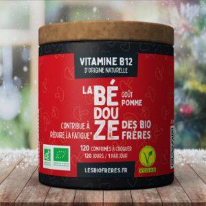 Vitamine B12 d'origine naturelle goût Pomme des Bio Frères