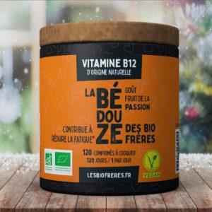 Vitamine B12 d'origine naturelle goût Passion des Bio Frères