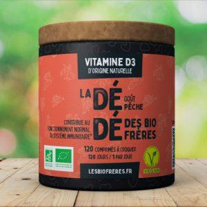 Vitamine D3 d'origine naturelle des Bio Frères