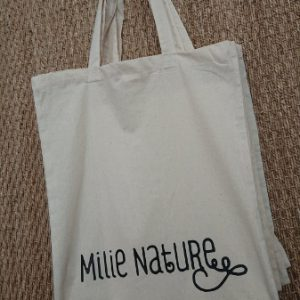 Tote bag en coton bio Milie Nature