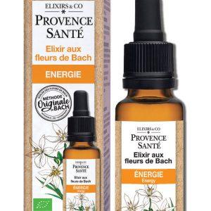 Elixir De fleurs de Bach, Compte-gouttes - Energie